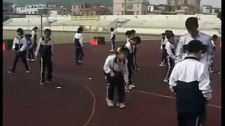 小学五六年级单元体育田径《跨栏技术入门》人教课标版―屈建辉―纪中