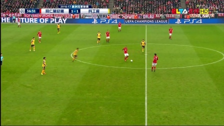 2月16日欧冠1/8决赛第1回合拜仁慕尼黑vs阿森纳(ELTA高清国语)