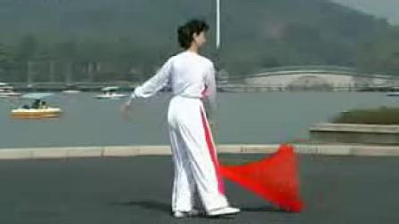 木兰长绸扇教学_示范北京冲浪模拟器图片