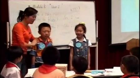 外研版小学英语第三册《M6 Unit2 Yes,I can》教学视频【吴青】2(第五届全国小学英语教学研讨会展评课)