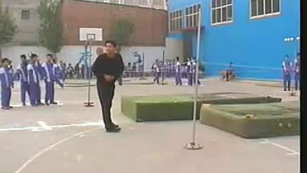 九年级初中体育优质课展示 《跳高 寻宝游戏》
