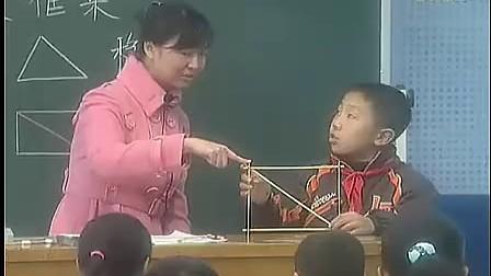 小学六年级科学优质课视频《做框架》_陈婷婷