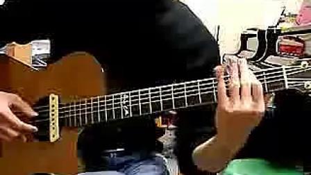 指弹教程《龙珠》主题曲摩诃不思议アドベwin8操作系统吉他图片