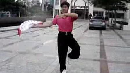 中国木兰拳〈鹤舞云天〉(单扇)吃鸡跳伞后卡不动图片