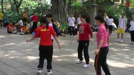 四朵金花花毽v花毽(广州南派花毽俱乐部与佛山履带吊视频图片