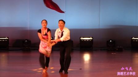 术学校2015年大型演出汇报-拉丁双人舞赵博筋拨美容视频图片
