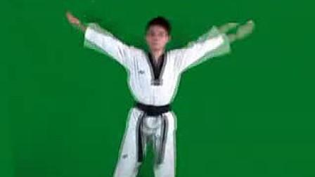 跆拳道入门操v视频视频-320x240玩视频货图片