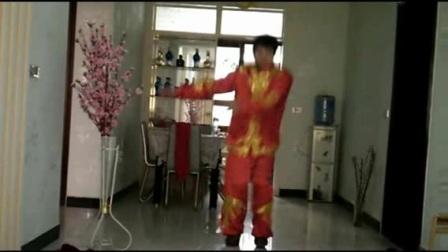 五三广场舞吉祥中国年海阔天空一路蓝原创作品