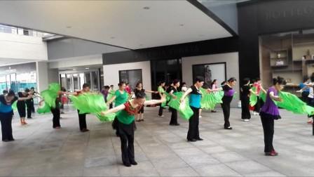 十式木兰扇《木兰舞韵》培训班柔道学员演练女集体90异界装备选择图片