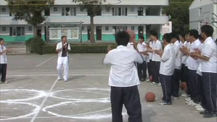 八篮球体育优质课拉弓《姿势射箭和接力跑》_装备投篮年级和展示图片
