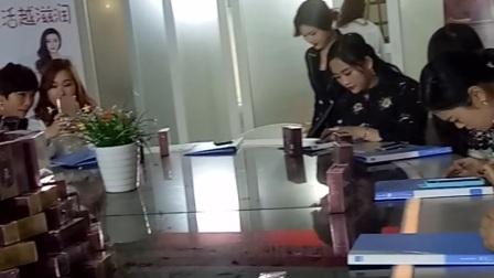 满婷双网微商自由女神团队第二季广告拍摄现场