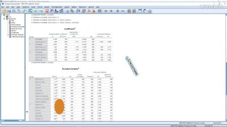 陈老师SPSS数据分析教程问答(7)SPSS多元线性回归自变量权重运算自变量对因变量贡献率大小的判断