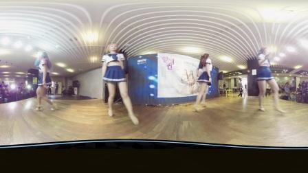 360全景视频性感学生装疯跳热舞