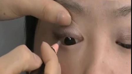 修眉毛单眼皮眼妆美妆教程视频