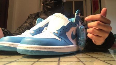 ? 郭子陵鞋評第六十五期Nike Air Jordan 1 Unc OG AJ1 北卡藍 575441-555088-117誰說夏天不能穿高幫