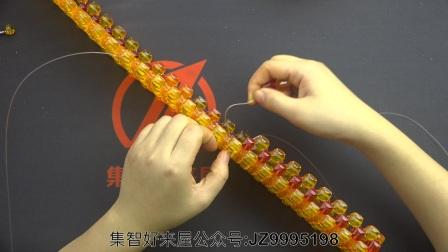 招财龙视频摆件教程教学DIY编织手工串珠集v视频宝石教程图片
