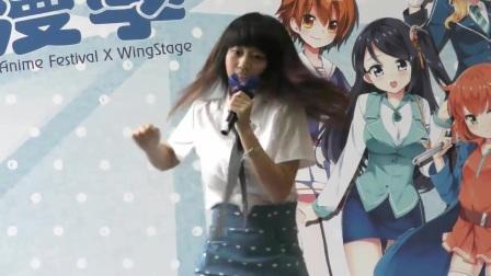 2015动漫季COS妹子热舞表演-美女模特