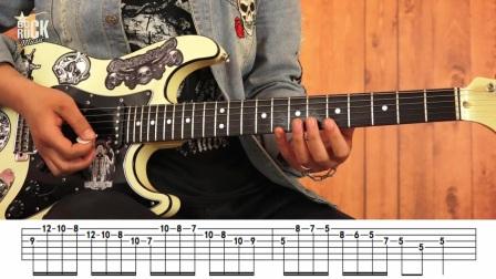 重金属主奏电吉他教学No.27《断奏工具》-演线教程视频弹技巧图片