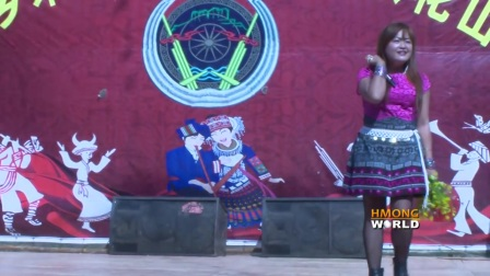 CAS LUB NIS THOJ performed LIVE in CHINA during Hmong Hauvtoj in Weipo village