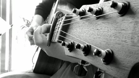 民谣美女吉他弹唱  林俊杰《她说》 爱唱歌的孔