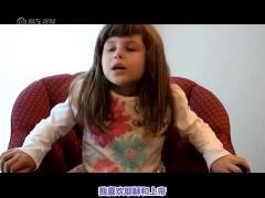 普通孩子与多动症孩子的采访对比视频