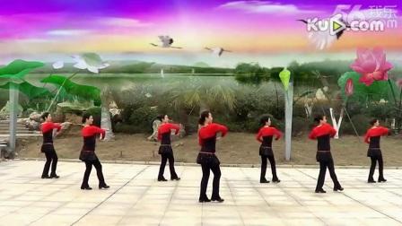 妇唱夫随 正面 纯艺舞吧广场舞 编舞:廖弟