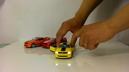 合金汽车模型福特声光野马版灰太狼视频城淘玩具割树头图片