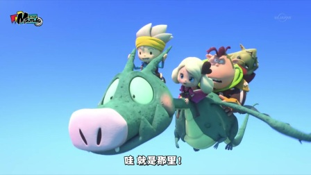 The Snack World 01话 我一定可以成功!美杜莎讨伐