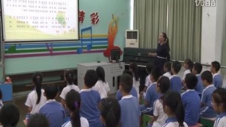 花城版音乐三年级上册《我们的学校亚克西》优质课教学视频,张弛