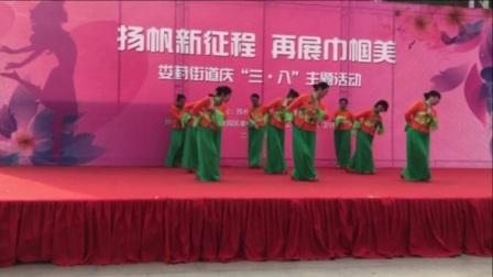 75四川广安邻水鲁姐广场舞【祖国的好江南】原创队形形体舞