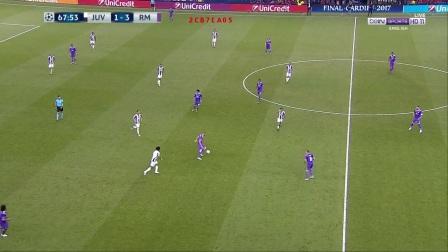 2017年6月4日 欧冠 决赛 尤文图斯vs皇马 下半场