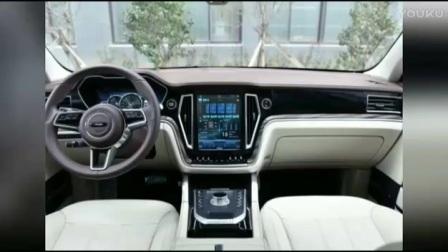 【汽车资讯】 众泰T700内饰图片 七座SUV什么配置