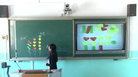 人教版小学数学一下《分类与整理》天津丁义红