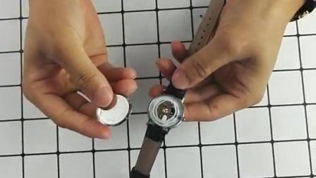 手表后盖的合上视频