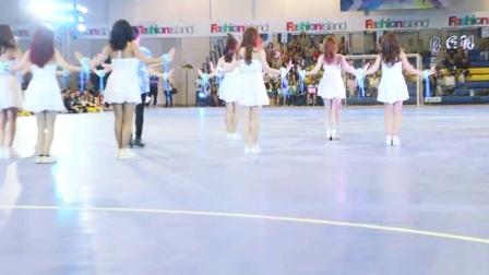 泰国的啦啦队表演, 美女真漂亮