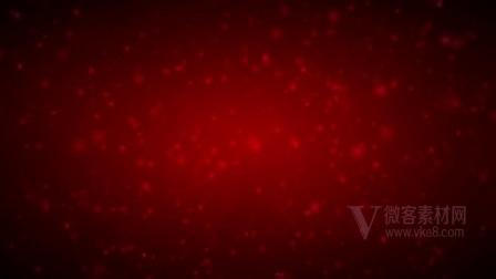 B1095红色旋转颗粒高清背景环