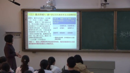 高三历史《近代中国民族资本主义的发展历程》教学视频,2016年全国中学历史(高中)录像课参赛视频