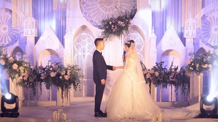 主持人昊天2017婚礼主持视频《承诺,当你老了......》
