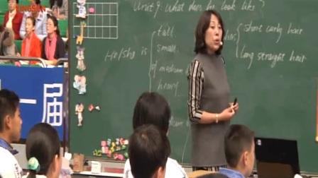 七年级英语Unit9 What does he look like 教学视频,第十一届全国初中英语课堂教学观摩课案例