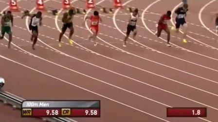 亚洲第一苏炳添10米击败博尔特, 刘翔和杨建解说