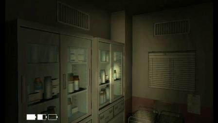 小毓超恐怖游戏解说wii《恐怖体感:咒怨》无人医院