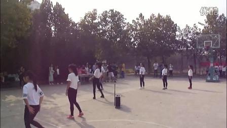 青岛大学2015年迎新杯篮球赛啦啦队表演