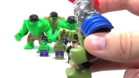 �e木�u家�犯�lego Hulk Bruce Banner Big Fig Minifigure LEGO Collection