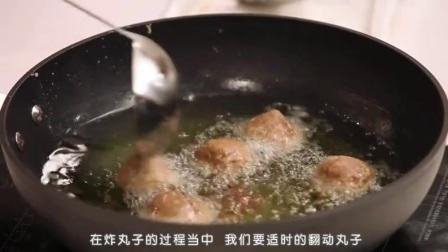 美食视频做菜大全视频播放 红烧狮子头的做法