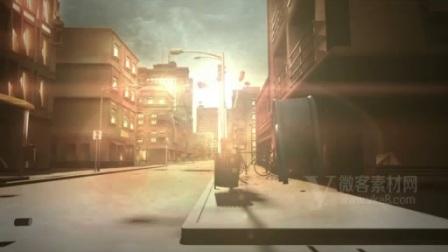 B151 3D城市建筑房地产宣传片视频素材城堡