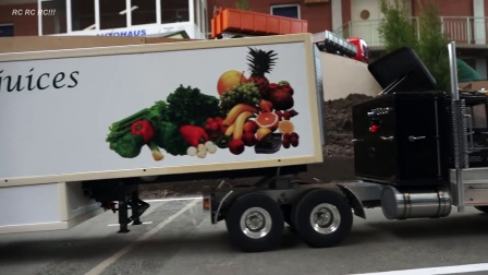 卡车在运动42-RC模型车!!可怕的车行动4 erlebn