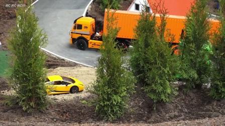 卡车在运动19-RC模型车!!可怕的车行动6 erlebn