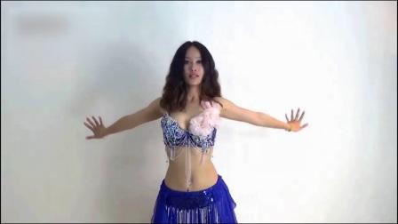 钢管舞肚皮舞舞蹈前热身的示范练习2肚皮舞入门