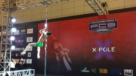 周宇钢管舞 2017美国PCS钢管舞锦标赛男子专业组冠