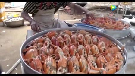 阳江阳西农村土豪结婚喜宴,全是海鲜宴看到口